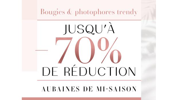 Bougies & photophores trendy