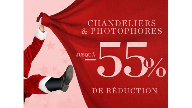 Chandeliers & photophores