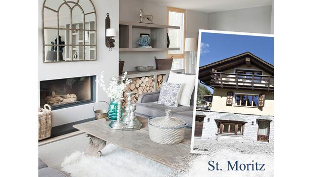 Un chalet à St. Moritz