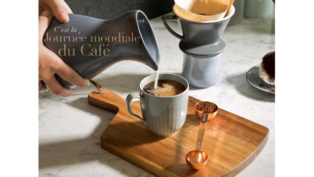 C'est la journée du café
