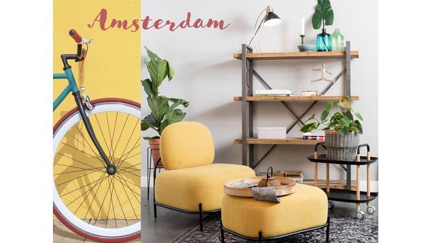 Un loft rétro à Amsterdam