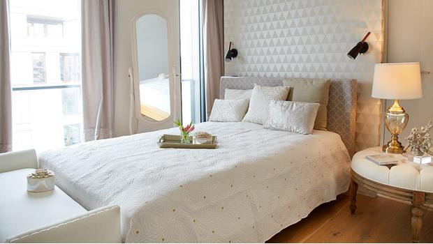 Une chambre glamour