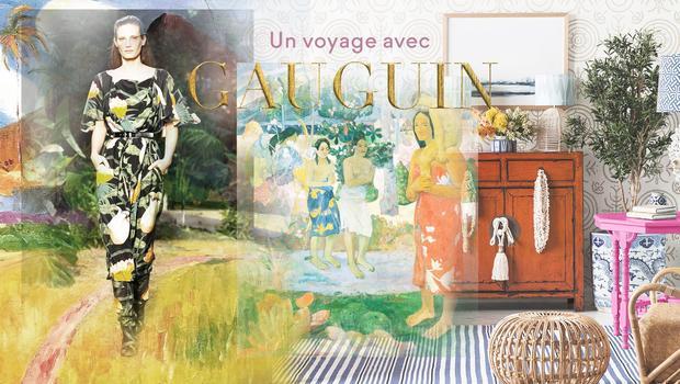 Une déco inspirée par Gauguin