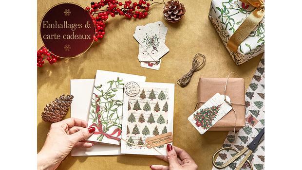 Emballages & cartes cadeaux