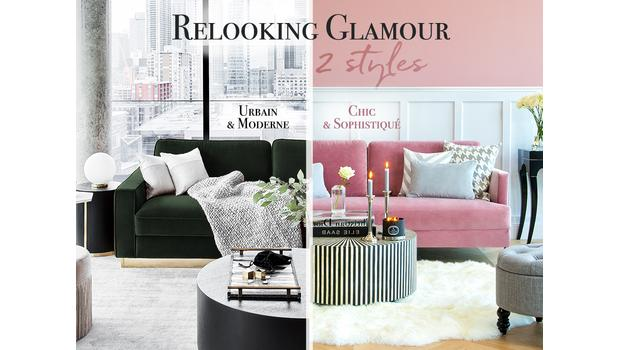 Le glamour en 2 looks