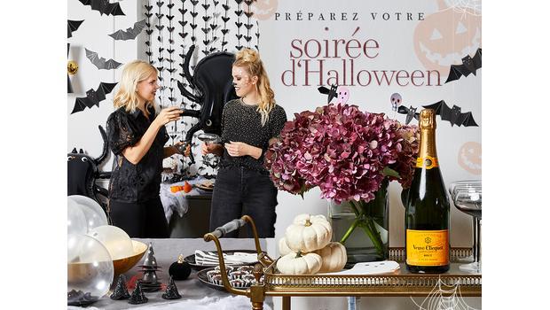 Une table pour Halloween