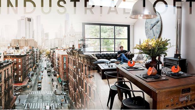 Un loft industriel à New York