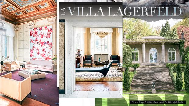 La villa Lagerfeld