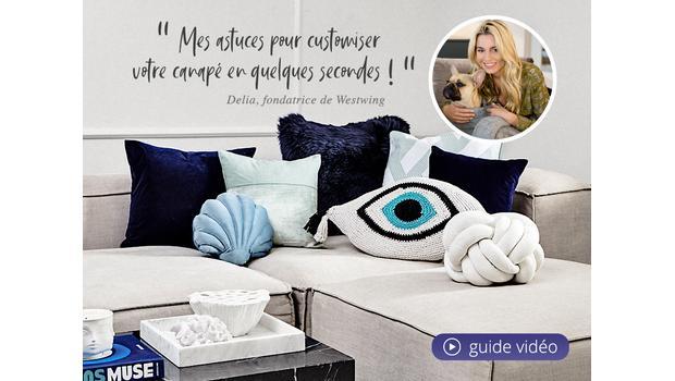 Customisez votre canapé !