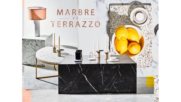 Marble vs. Terrazzo