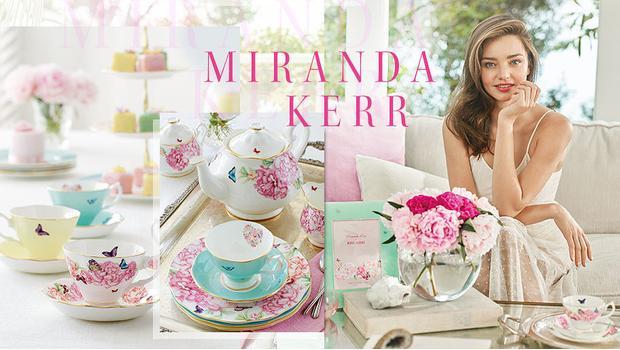 Miranda Kerr pour Royal Albert