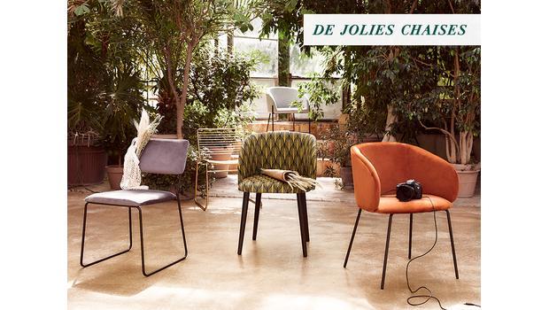 Les chaises qu'il vous faut !