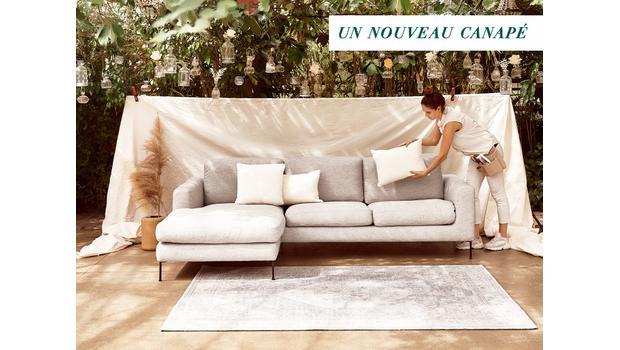 Offrez-vous un nouveau canapé