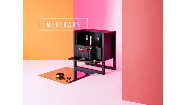Minibars en bois