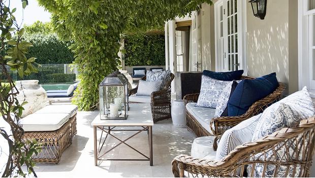 Terrasse classique chic