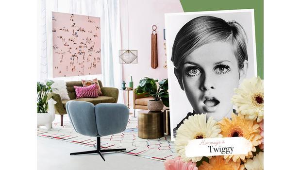 Icône de mode : Twiggy
