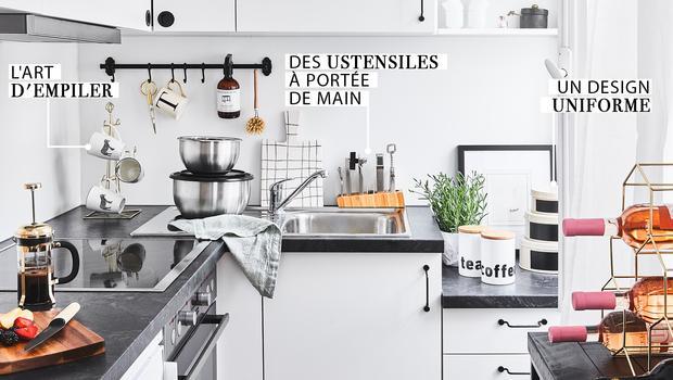 Une petite cuisine