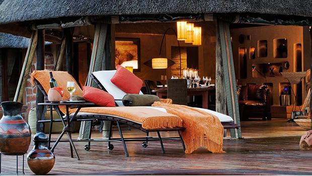 A lodge in Kenya