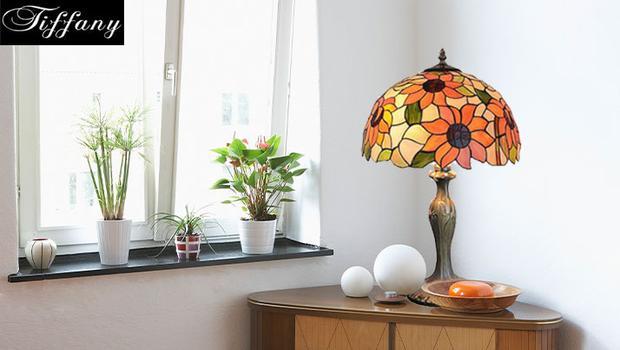Tiffany luz lampes art nouveau westwing