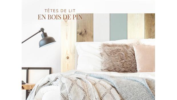 Têtes de lit naturelles