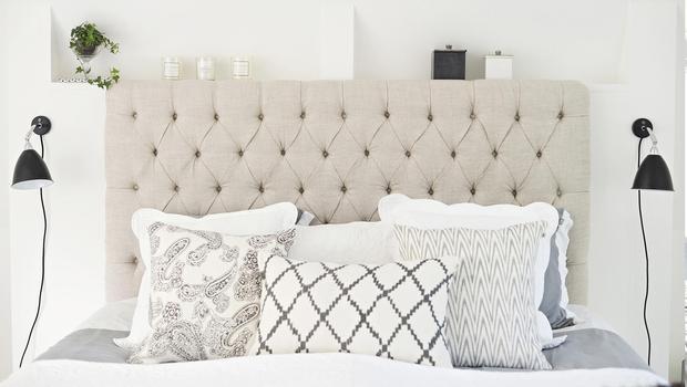 Têtes de lit confortables