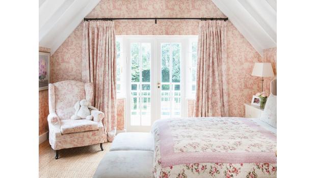 Une chambre romantique country