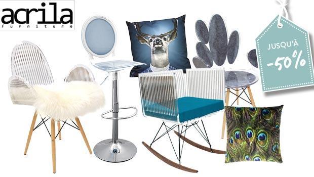 Acrila : Chaises, tables & accessoires