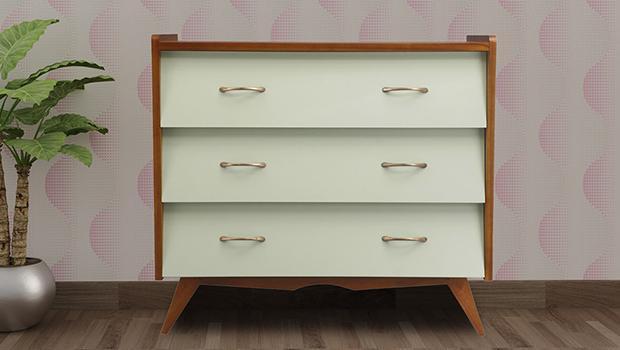 étagère bureau meuble tv télé mobilier rétro coloré westwing