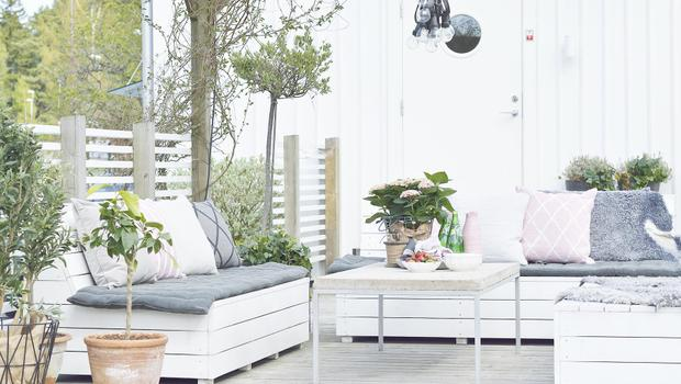 Une terrasse d'été
