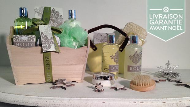 Beauté cadeau boite coffret maquillage bain savon