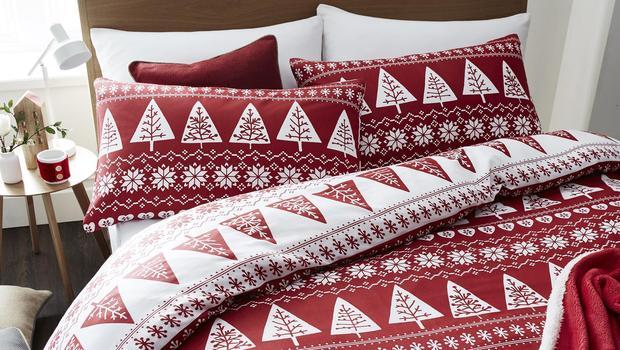 Textile de Noël Bianca