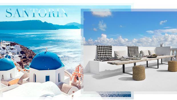 Une maison d'été, les Cyclades