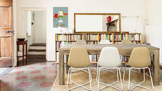 scandi mobilier cristal bois