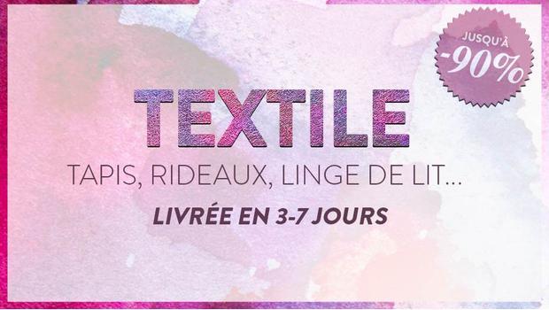 Méga vente textile !