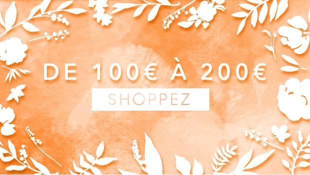 De 100 à 200 euros