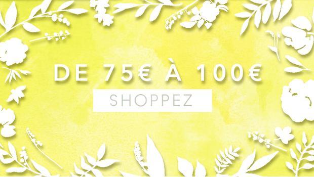 De 75 à 100 euros