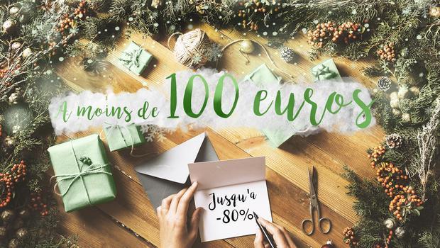 Cadeaux à moins de 100€