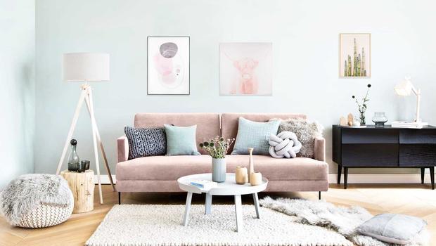 La maison en mode pastel