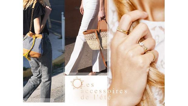 Bijoux et sacs d'été