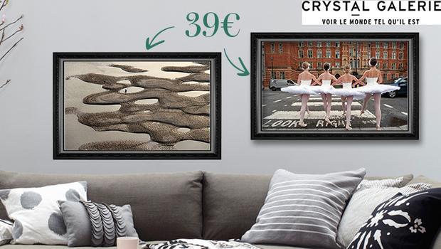 photographies décoration artiste crystal galerie