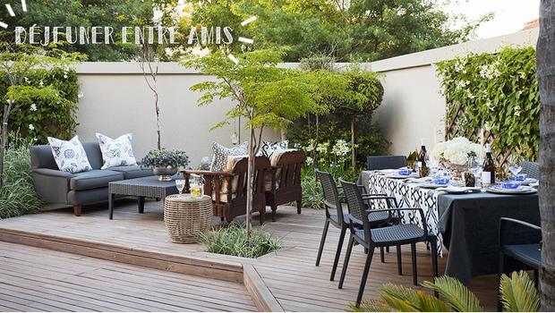 Une terrasse équipée !