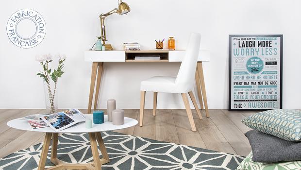 mark design chêne contemporain mobilier chaise table commode