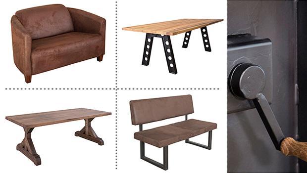 table tabouret chaise fauteuil industriel ecomatrix
