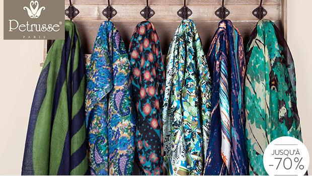 Petrusse foulard écharpé etole ÉCHARPES   ÉTOLES EN LAINE ET SOIE ... 3d9d9727d66