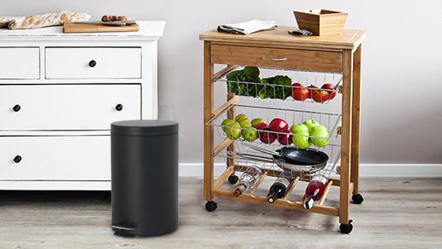 Une cuisine organisée