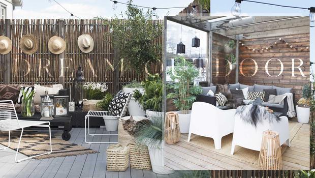 Une terrasse de rêve Les essentiels pour passer l\'été dehors | Westwing