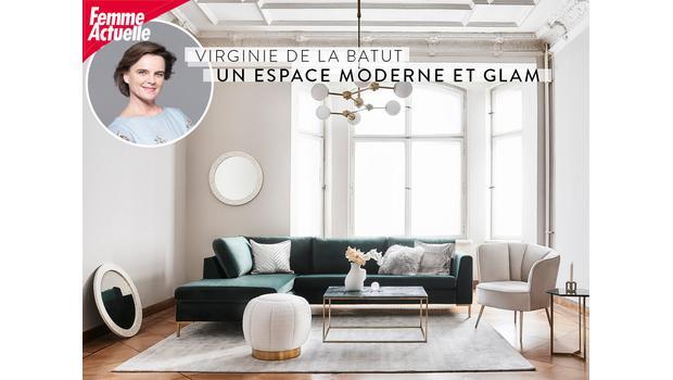 Espace moderne et glam'
