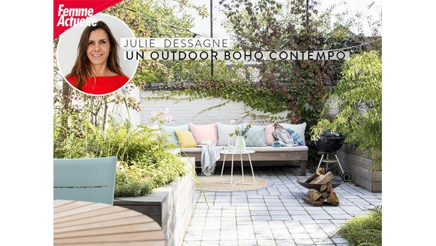 Outdoor boho contempo