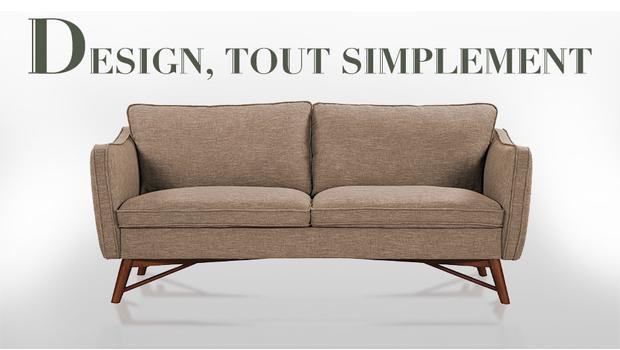 Un canapé design