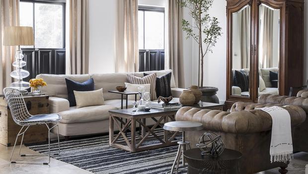 Un salon classique et élégant